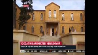 Yozgat'ın Taş Mektebi Yenileniyor..