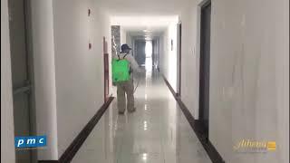 Phun diệt côn trùng hành lang căn hộ - Athena Complex