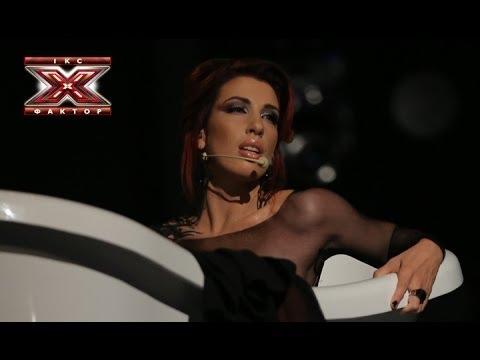 Мария Кацева - Back To Black - Amy Winehouse - Первый прямой эфир - Х-фактор 4 - 26.10.2013
