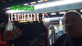 #698 Bally Midway TERMINATOR 2 Arcade Video Game - TNT Amusements