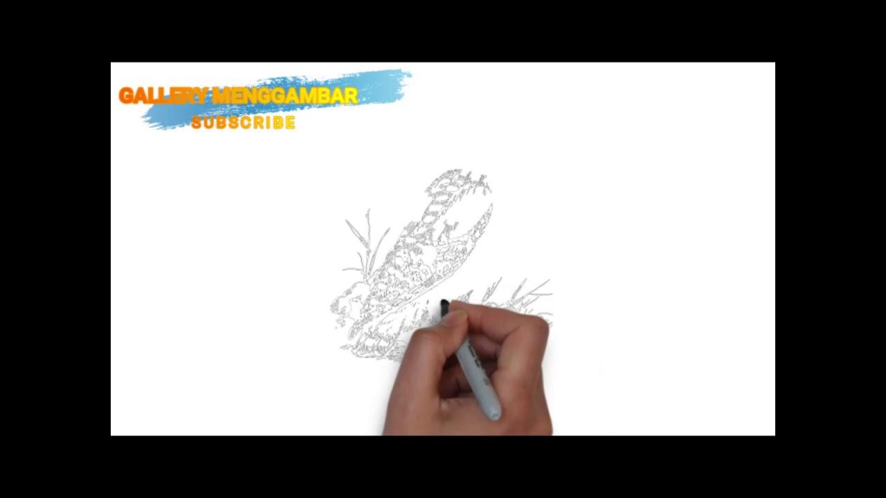 Cara Gambar Burung Hantu Dengan Mudah Untuk Belajar Youtube
