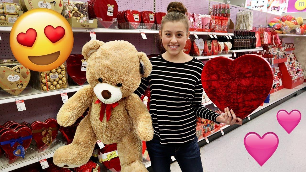 Valentine Shopping For Her CRUSH!