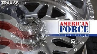 American Force Trax SS: 22x12, Polished
