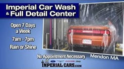 Imperial Car Wash and Full Service Detail Center Mendon MA