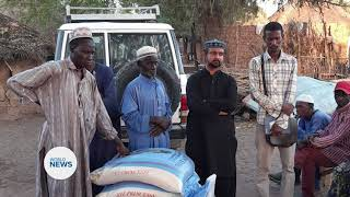 Humanity First Senegal Provide Relief Aid to Homeless