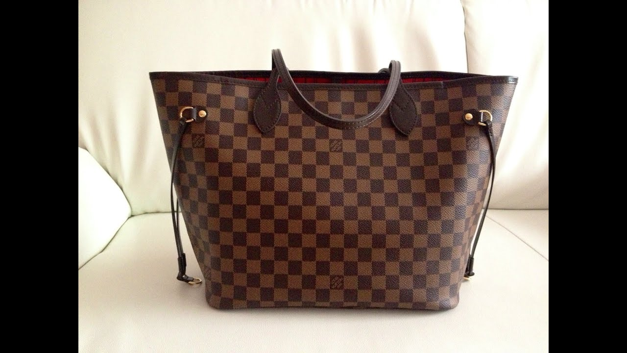louis vuitton neverfull mm review what 39 s in my bag youtube. Black Bedroom Furniture Sets. Home Design Ideas