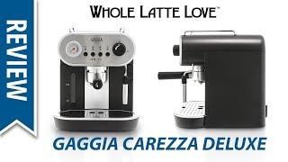 Review: Gaggia Carezza Deluxe Espresso Machine - Latte Art Capable!