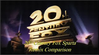 20th Century Fox has a Sparta Remix Extended Comparison