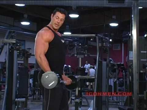 Christian Boeving  Barbell Curl Bodybuilding
