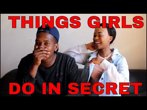 """SHOCKING THINGS GIRLS DO IN SECRET... """" We smell our underwear"""" thumbnail"""