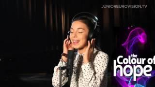 Gabriela Yordanova & Ivan Stoyanov - Colour of Hope - Bulgaria - 2015 Junior Eurovision Song C