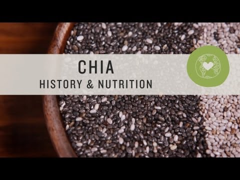 Chia Seeds History & Nutrition Superfoods