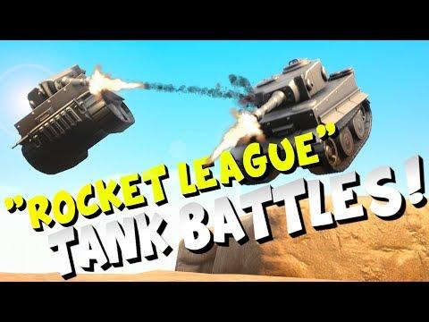 PANZER rocket league style TANK GAME! thumbnail