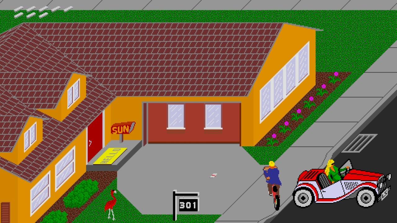 games paperboy online