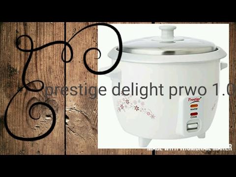 e4cbcae7ca3 Prestige Delight PRWO 1.0 1-Litre Electric Rice Cooker (White) - YouTube