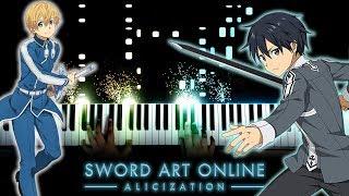 "[Sword Art Online: Alicization OP 2] ""RESISTER"" - ASCA (Piano) thumbnail"