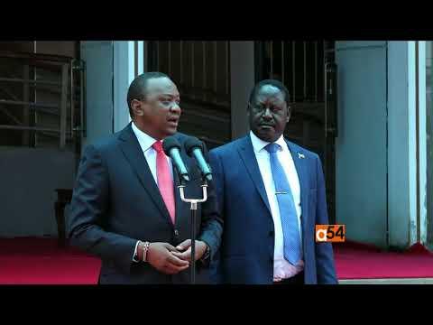 Kenya President and Opposition Leader Announce New Partnership