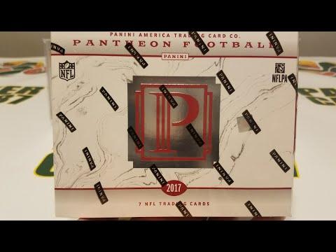 2017 Panini Pantheon Football Hobby Box. High End Unboxing