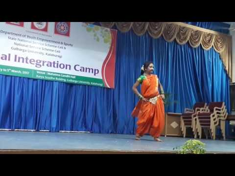 GUk NSS CAMP.Marathi song.