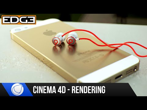 Cinema 4D & Octane 2.0 Rendering Tutorial - The iPhone5 & Beats Earphones Part 1 HD