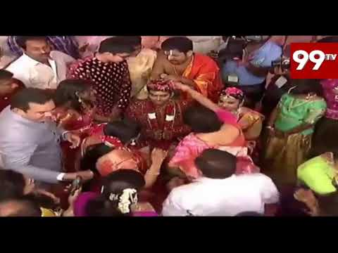 Ramoji Rao Grand Daughter Wedding LIVE || 99TV Telugu