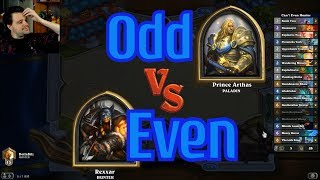 Even Hunter vs Odd Paladin - Hearthstone