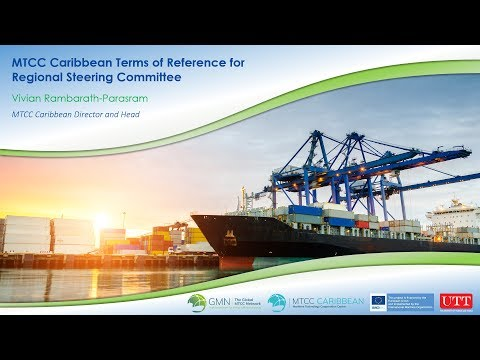 MTCC Caribbean - Terms of Reference for the Regional Steering Committee