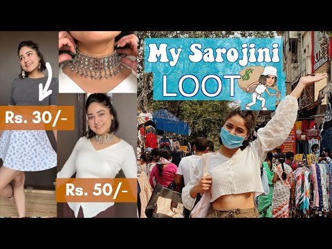 BEST Shopping at Sarojini Nagar after Lockdown.
