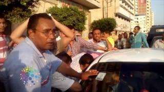 فيديو| احتجاز رئيس لجنة انتخابات الغرفة التجارية بدسوق