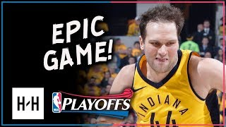 Bojan Bogdanovic Full Game 3 Highlights Pacers vs Cavaliers 2018 Playoffs - 30 Points DAGGER