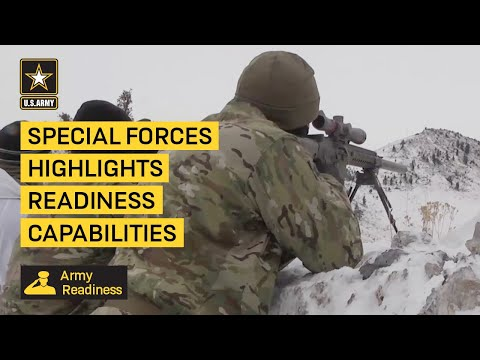 U.S. Army Special Forces Highlights Readiness Capabilities