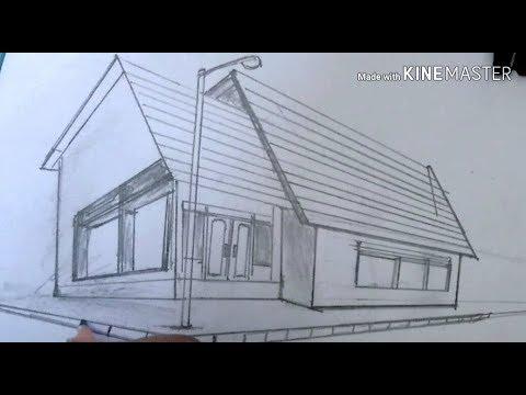 Gambar Perspektif Rumah Minimalis