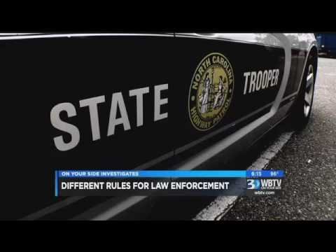 [NC] Trooper's wife went to local news to get equal protection at courthouse
