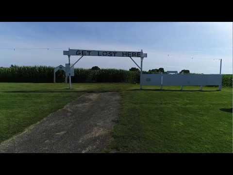 Richardson Adventure Farm & Corn Maze Drone Footage 2019 in Lake County, IL