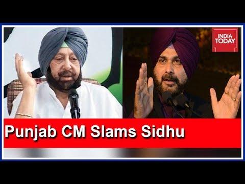 Punjab CM Amarinder Singh Lashes Out At Navjot Sidhu, Pak PM Imran Khan