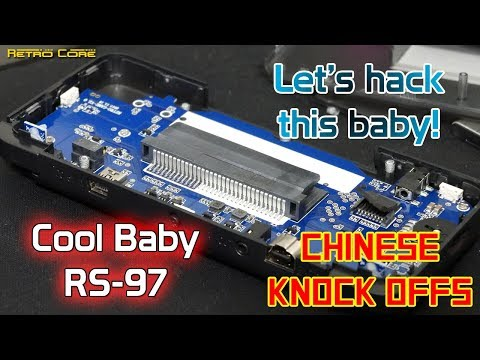 RS-97 Retro Game Modding guide - Chinese Knock Offs - 4K