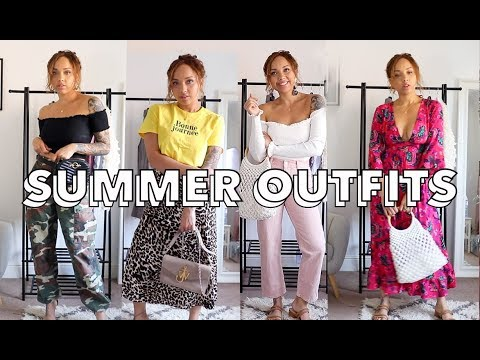 MY FAVOURITE SUMMER OUTFITS (CHATTY!)