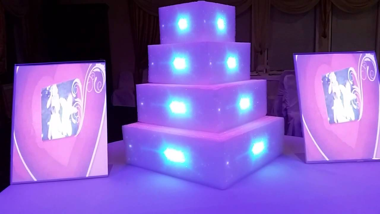 projection wedding cake wedding cake projector mapping display tutorial 18806