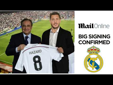 EDEN HAZARD TRANSFER REAL MADRID CHELSEA BREAKING NEWS