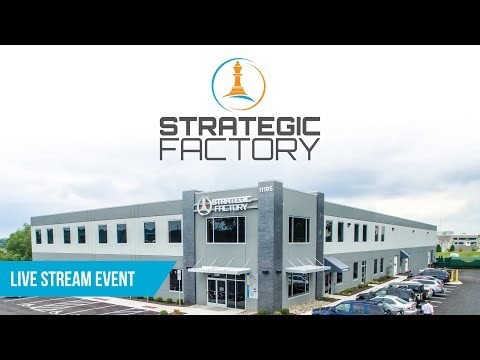 """Live Broadcast """"Virtual Tour"""" Strategic Factory, Owings Mills, MD"""