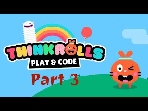 Thinkrolls Play & Code - ARCADE LOGIC PUZZLES - Puzzle platform game for Kids