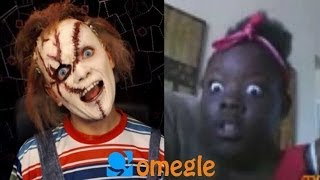 Chucky goes on Omegle!