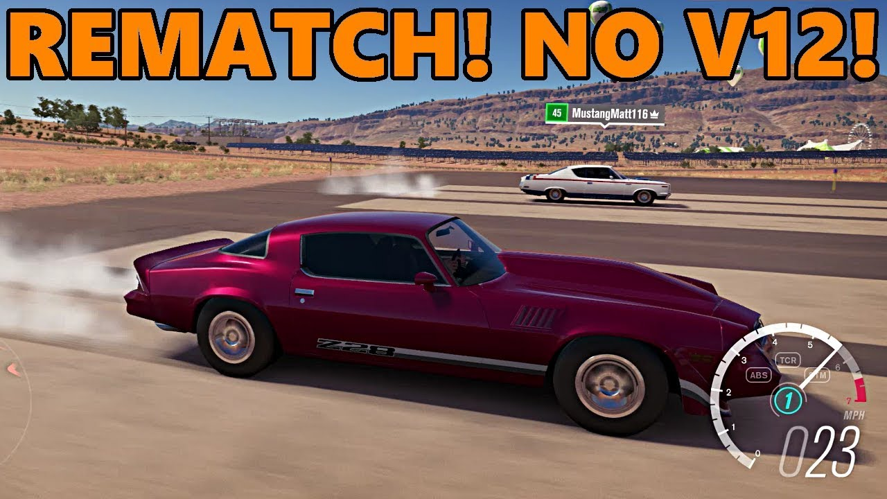 Forza Horizon Rematch With No Swap Budget Muscle Cars