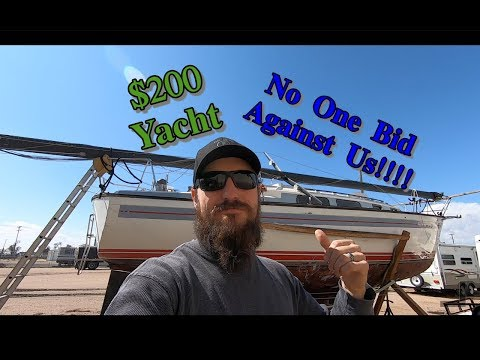 We Bought A $200 Yacht from Copart!!  (life of lind ep 9)