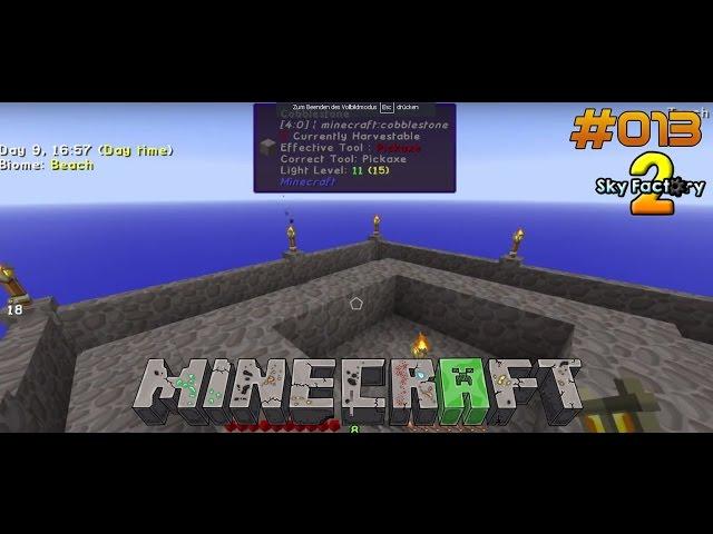 Let's Play Minecraft Sky-Factory 2 | Verflixte 7 & Pimp my Mobfarm | Folge #013