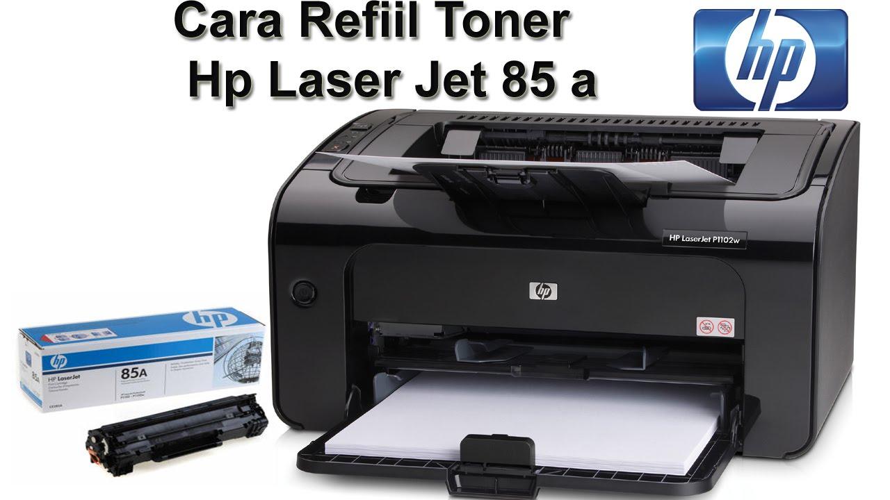 Hp Laser Jet 1102 Refil Catridge Toner 35a 36a 85a 78a Part 1 Youtube Premium