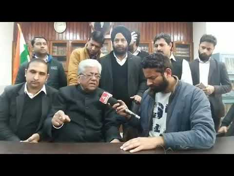 BAR Association appeals administration to book all the Anti National elements from Jammu.