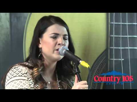 Jess Moskaluke live at the Country 105 Soundstage