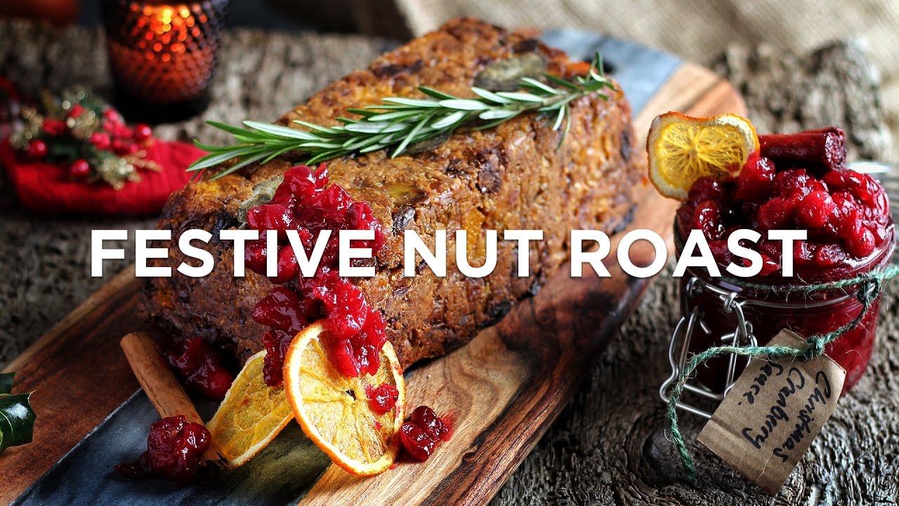 VEGAN CHRISTMAS - FESTIVE NUT ROAST