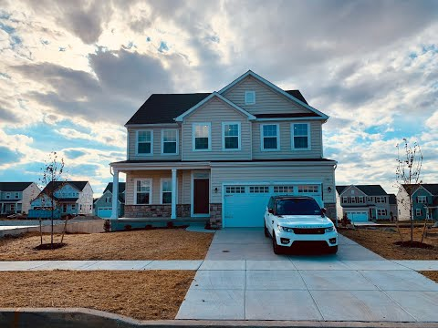 My Ryan Homes New Construction Empty Home Tour
